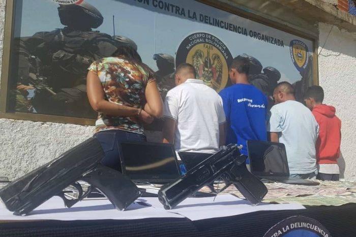 Capturan a presuntos responsables de robo a médicos cubanos en Ciudad Caribia