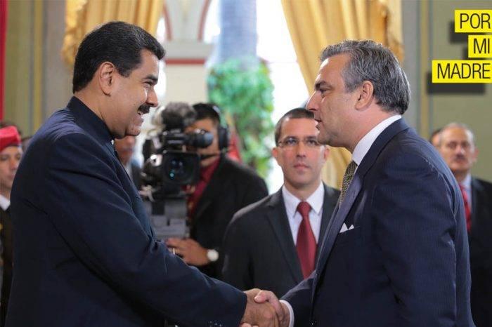 El guante de seda del rey español hacia Nicolás Maduro