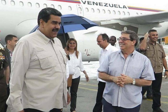 Maduro vuelve a La Habana a reiterar guion de la guerra económica contra Venezuela