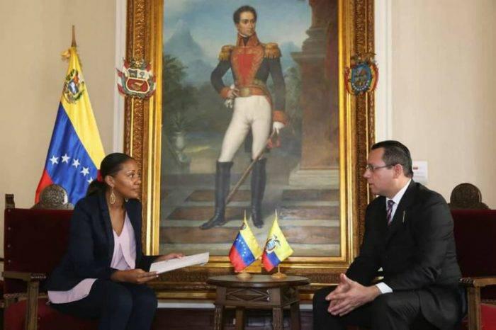 Venezuela entrega nota de protesta a Ecuador por injerencia
