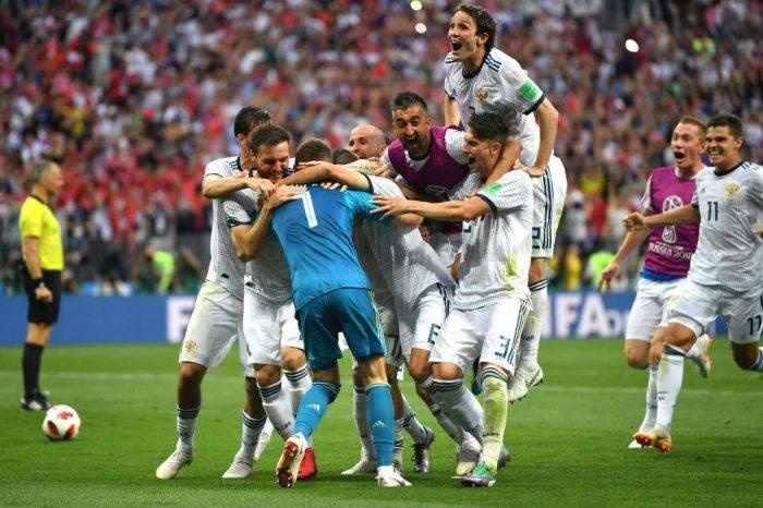 Rusia elimina a España en los penales