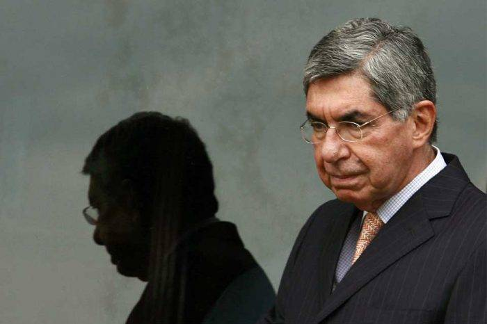 Expresidente costarricense Óscar Arias es acusado de corrupción