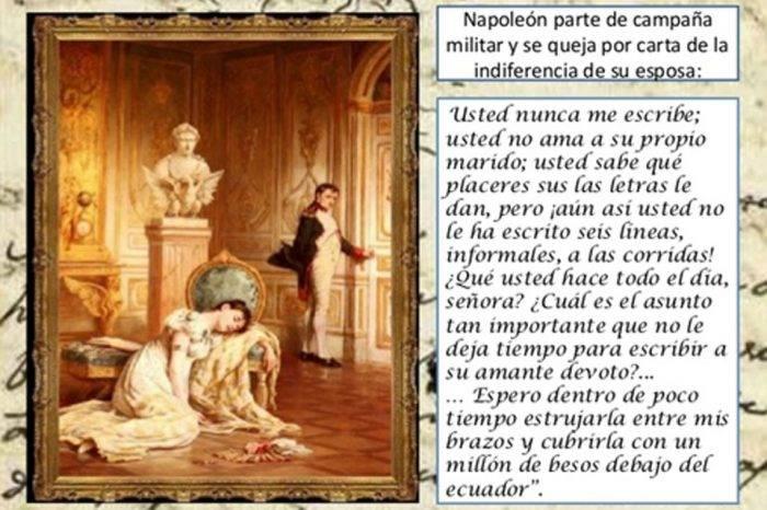 Napoleón: Qué Bochorno de Cartas, por Carlos Montenegro