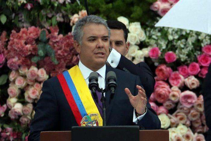 Iván Duque es juramentado como presidente electo de Colombia