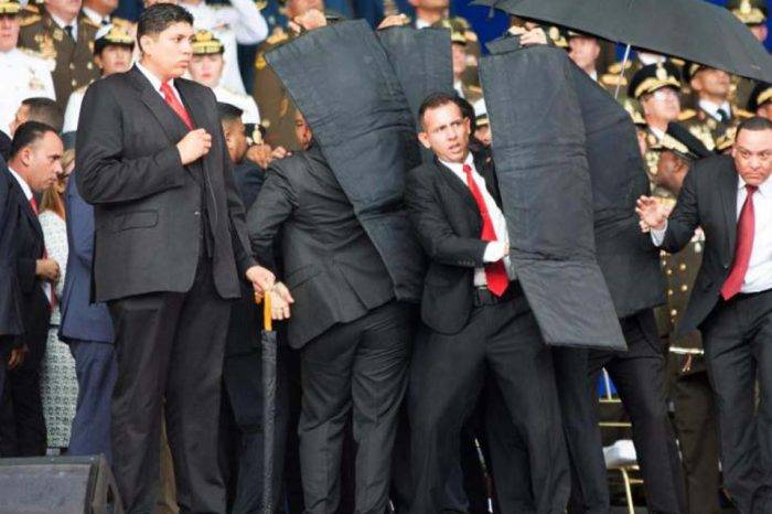 """Lo que no se vio en cámaras tras el """"atentado"""" contra Nicolás Maduro"""