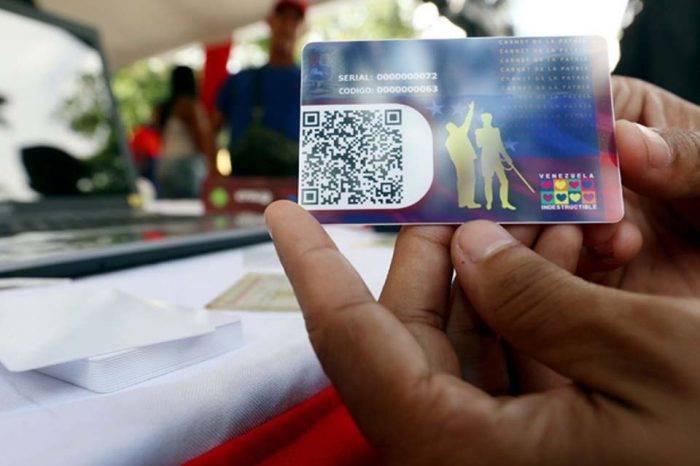 Régimen de Maduro asigna nuevo bono a través del carnet de la patria