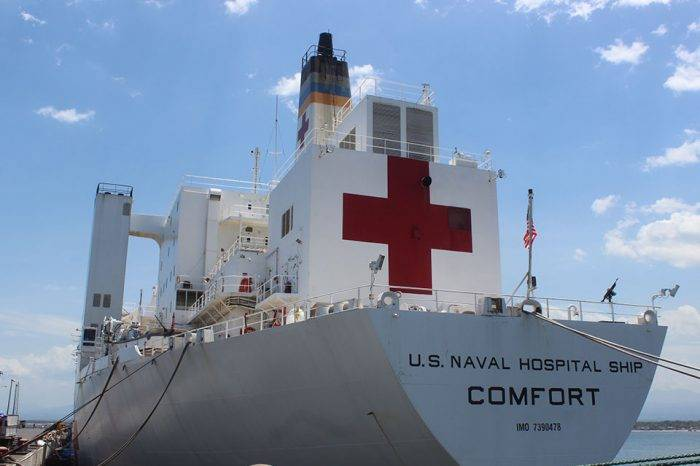 Barco hospital USNS Comfort zarpará el #11Oct para atender a migrantes venezolanos