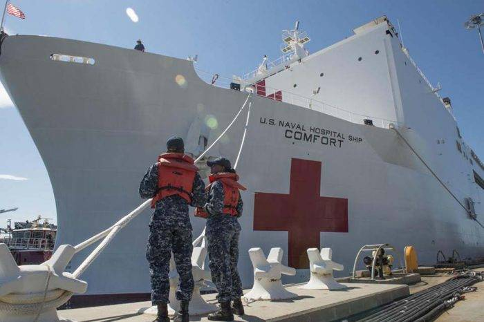 Reclutan médicos voluntarios venezolanos para trabajar en barco hospital de EEUU