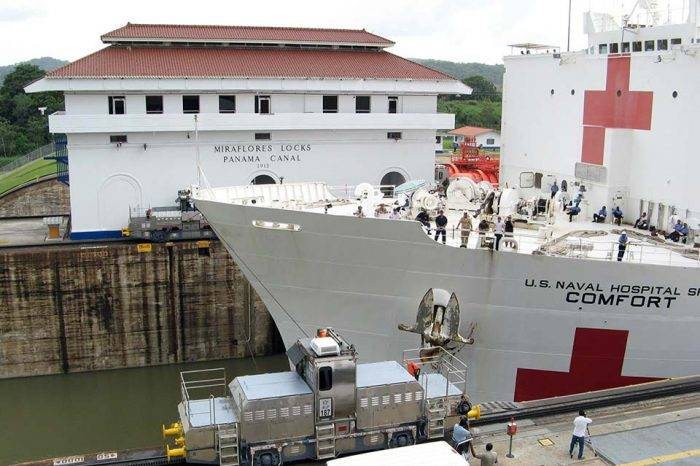 USNS Comfort adelantó su viaje a Latinoamérica por presencia de huracán Michael