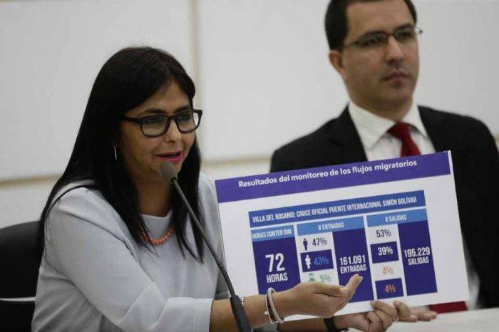 """""""No nos cansaremos de decir que no existe crisis humanitaria en Venezuela"""""""
