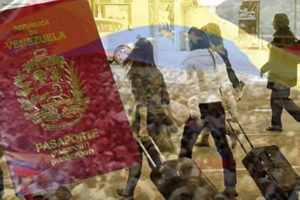 Diáspora venezolana. Foto: Henrique Capriles