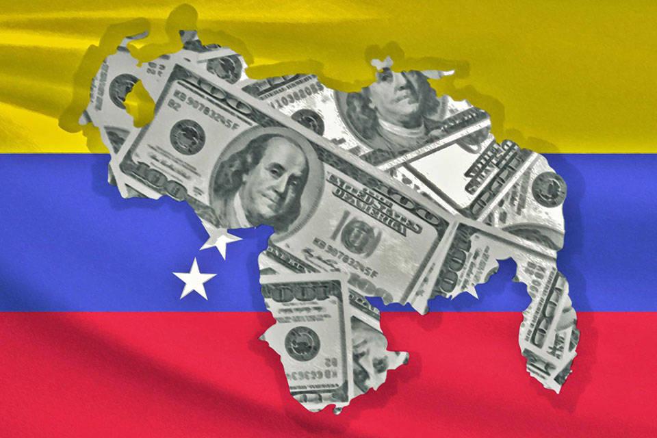 Dólares para Venezuela. Fotos: Venepress