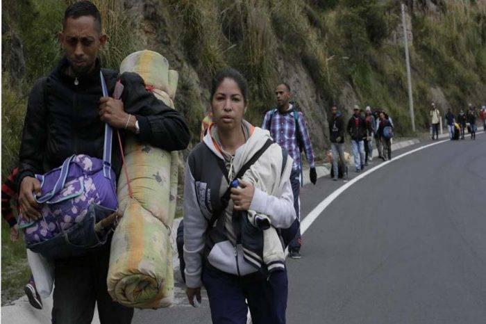 Grupo de venezolanos pudo entrar a Ecuador sin cumplir medidas migratorias