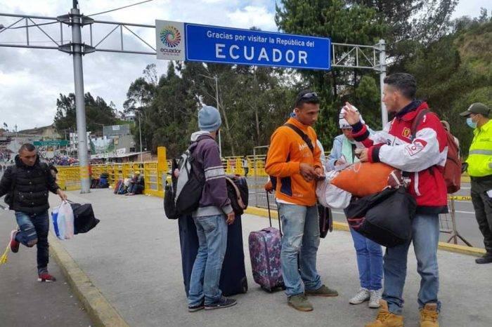 Ecuador Frontera Rumichaca