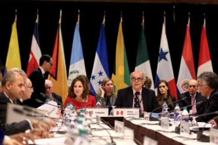 Grupo de Lima reitera su compromiso con el retorno a la democracia en Venezuela