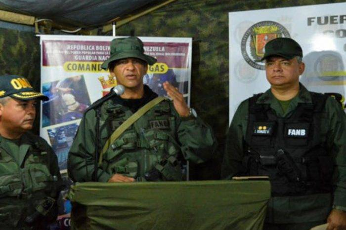 Detenido Jefe Antidrogas de la GN por supuesta relación en atentado contra Maduro