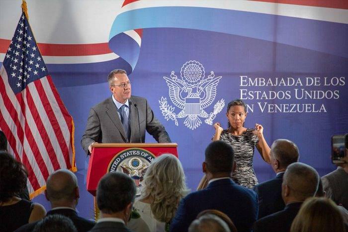 Encargado de Negocios de EEUU es partidario de soluciones pacíficas en Venezuela