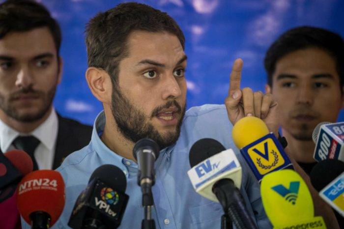 Voluntad Popular exige liberación inmediata de Juan Requesens