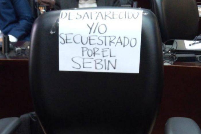 """""""Desaparecido por el Sebin"""", por Naky Soto"""
