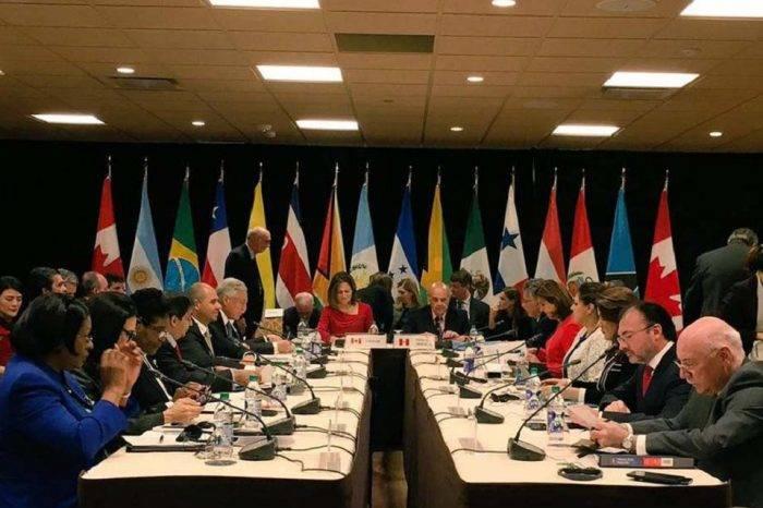"""Grupo de Lima reitera apoyo a Guaidó y pide transición sin el """"uso de la fuerza"""""""