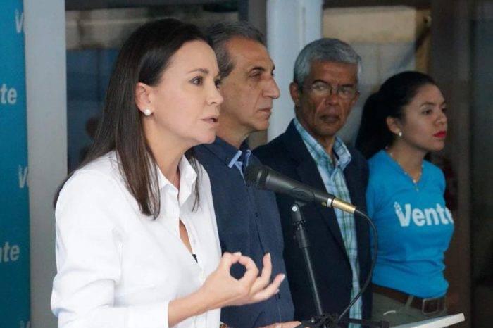 """Machado asegura que acciones contra Requesens son """"terrorismo de Estado"""""""