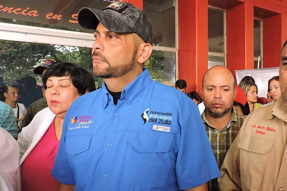 Omar Prieto gobernador Zulia