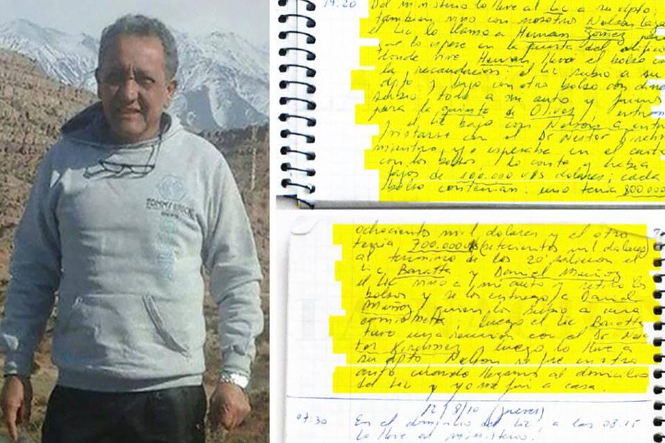 Oscar Centeno. Foto: Diario 26