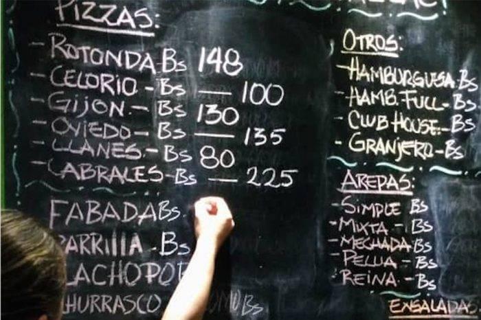Precios de tiza, por Juan Vicente Gómez