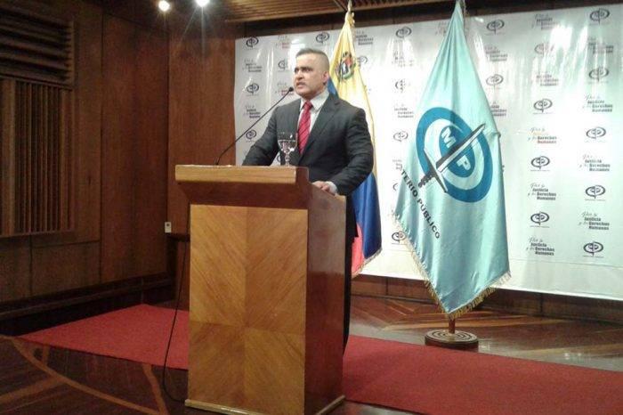 """Tarek William Saab adelantó información sin dar detalles sobre """"atentado"""""""