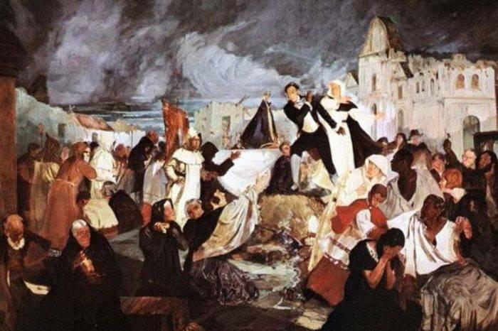 Terremoto de 1812, por Ángel Rafael Lombardi Boscán
