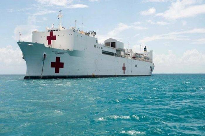 EEUU mandará barco hospital a costas de Colombia para ayudar a migrantes venezolanos