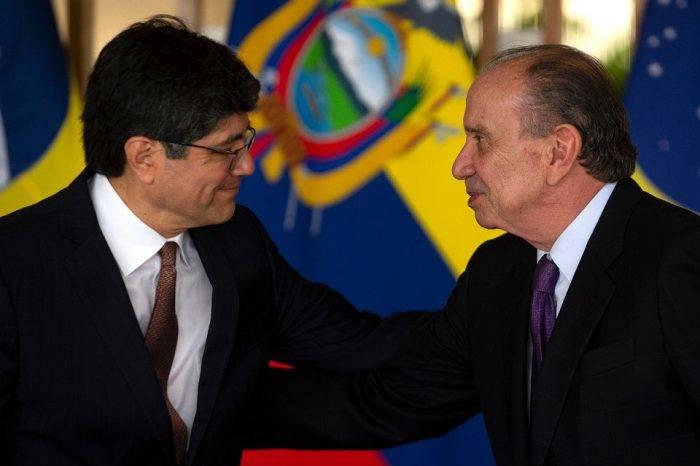 """Cancilleres de Brasil y Ecuador expresan preocupación por """"refugiados venezolanos"""""""