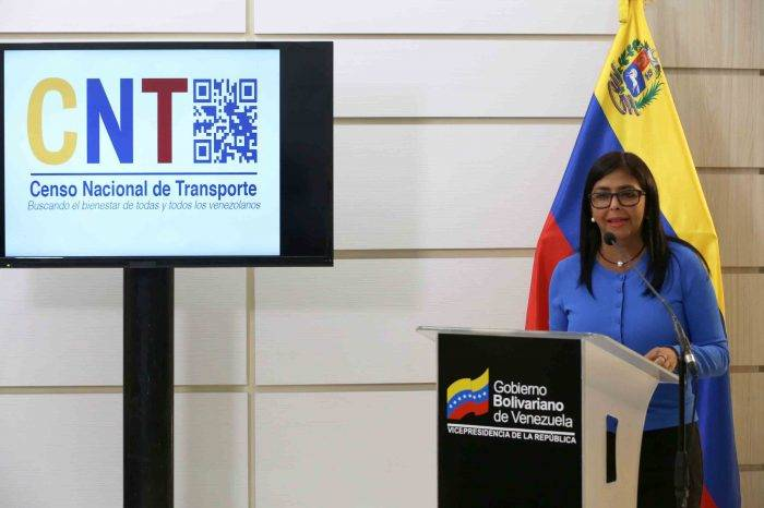 Censo de transporte presencial se realizará en las plazas Bolívar este fin de semana