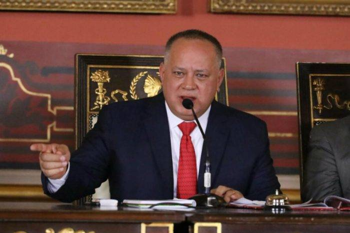 """Diosdado Cabello: ANC podría durar más de dos años """"si es necesario"""""""