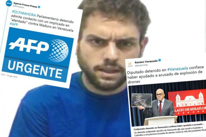 Venezuelan Press llama la atención a Reuters y AFP por noticia de Juan Requesens