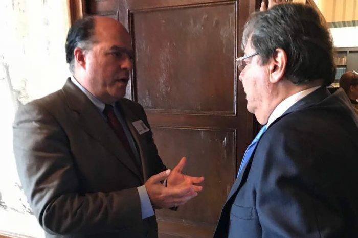 "Canciller de Colombia ofrece ""apoyo incondicional"" a Julio Borges"