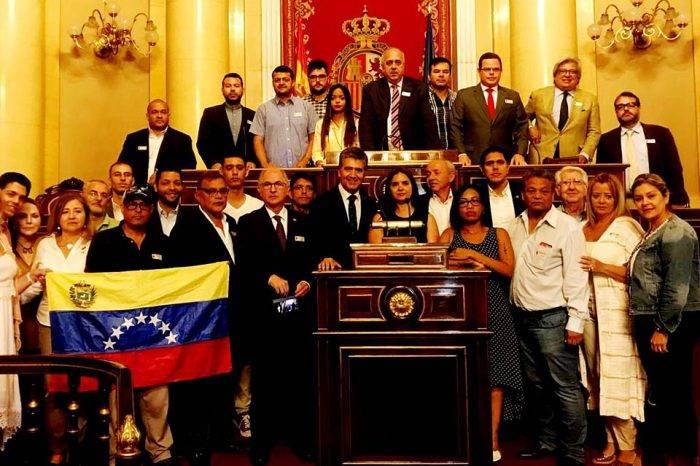 Ledezma pide a Senado español pronunciarse en solidaridad con presos políticos