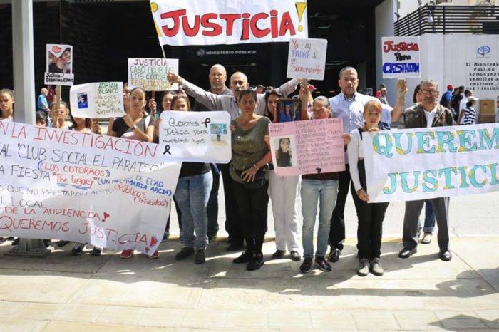 Familiares denuncian que Fiscalía echó al olvido tragedia de Los Cotorros