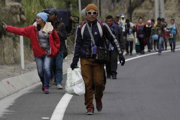 La dolorosa ruta de los migrantes venezolanos