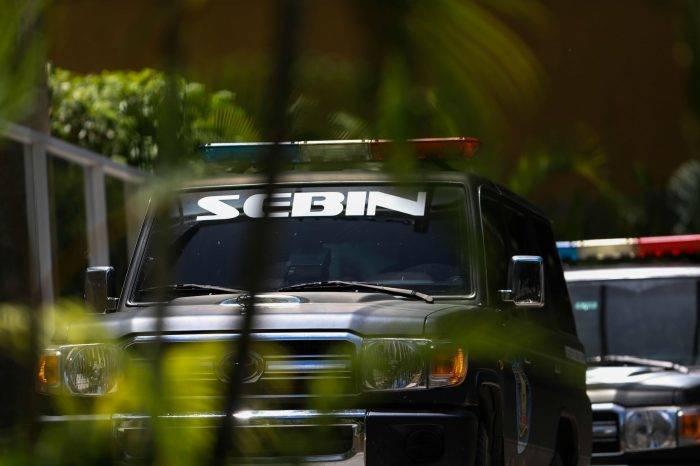Escoltas detenidos por el Sebin sufrieron aparatosos accidente cuando eran trasladados