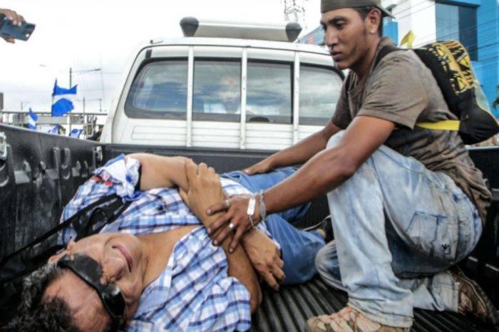 Desconocidos dispararon contra una marcha opositora en Nicaragua
