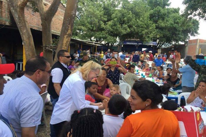 Luisa Ortega en la frontera: Estamos frente a una crisis de refugiados