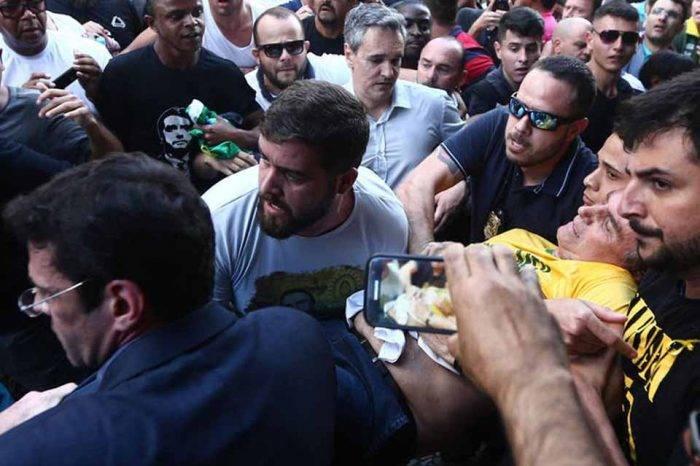 Apuñalaron a candidato a la presidencia de Brasil durante acto en Minas Gerais