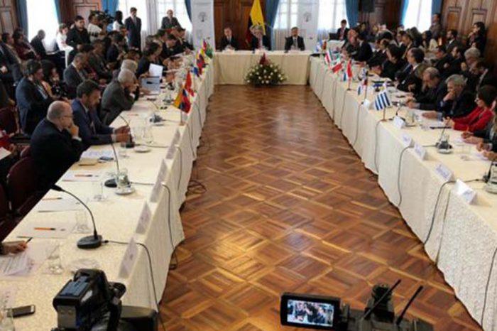 Reunión en Ecuador por crisis migratoria