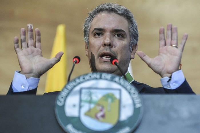 Duque anunció una reforma tributaria en un intento por detener las protestas