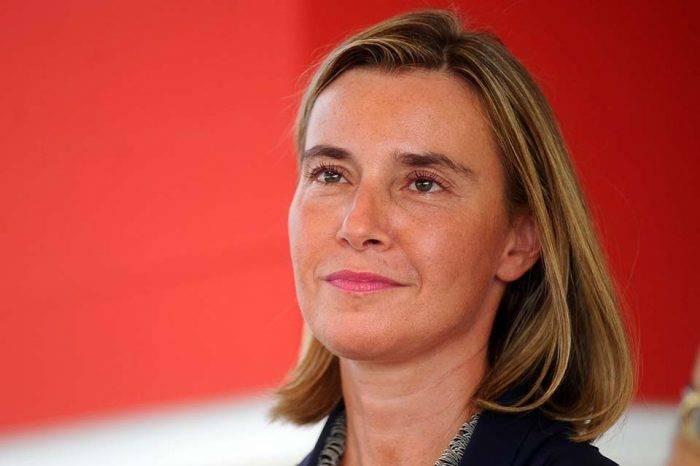 """Federica Mogherini dice que Venezuela es un """"tema urgente"""" para la Unión Europea"""