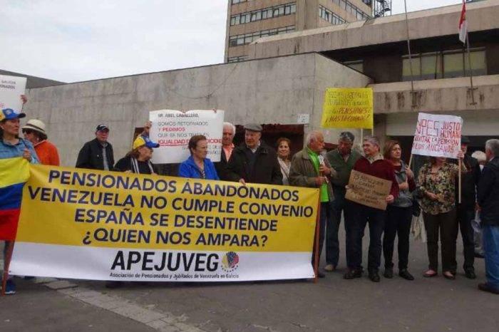 Jubilados venezolanos en España piden a la AN crear fondo de ayuda humanitaria