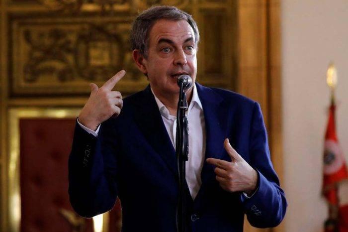 """Zapatero insiste en el diálogo como """"única vía para la crisis venezolana"""""""