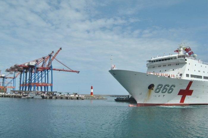 La promesa del buque hospital chino no fue medicina suficiente