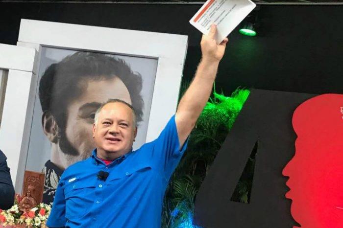 Cabello asegura que EEUU y militares discutieron posible golpe de Estado en Venezuela